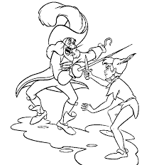 pan coloring popular peter pan coloring pages printable coloring