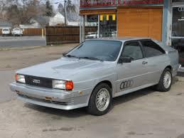 1983 audi quattro used 1983 audi quattro turbo coupe in englewood co near 80113