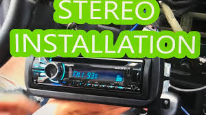 1999 2004 jeep grand cherokee stereo deck radio installation