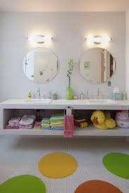 austin contemporary bathroom mirrors with round mirror cotton bath