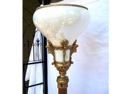 Tiffany Floor Lamp Shades Floor Lamp Art Deco Glass Floor Lamp Shades Geometric Art Glass