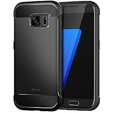 carbon design galaxy s7 jetech protective cover for