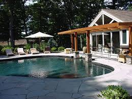 House With Guest House Custom Home Additions Renovations Guest House And Pool Concord Ma