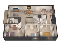bedroom plans floor plans u0026 rates university flats greeley