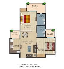 hp on floor plan ajnara group integrity raj nagar extension 09650600508