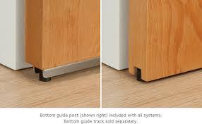 baldur tubular track sliding door hardware tubular track system