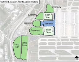 atlanta international airport map hartsfield jackson atlanta airport parking atl airport term