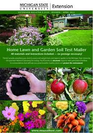 msu soil test com personalized recommendations for your lawn and