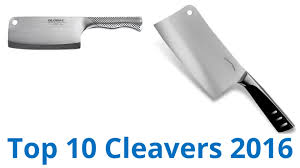 top 10 kitchen knives 10 best cleavers 2016 youtube