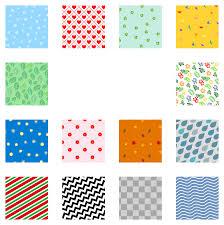 Clipart Pattern Set