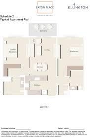 ellington floor plan eaton place luxury property apartments jvc dubai ellington