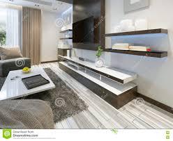 wohnzimmer regale audiosystem mit fernsehen und regale im wohnzimmer zeitgenossen