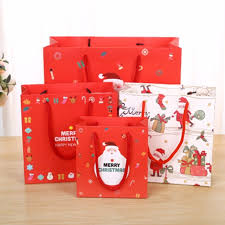 christmas gift bag 12pcs lot kraft paper bag merry christmas gift bags candy