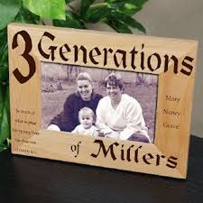 personalized picture frames 3 generations picture frame