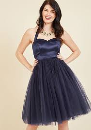 elegant and allegro tulle dress blue solid special occasion