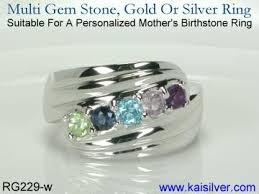 mothers rings with 4 stones personalized ring suggestions for a multi gem ring