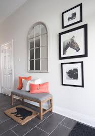 Urban Barn Living Room Ideas Entryway Mirror Ideas Entry Transitional With White Door Gray