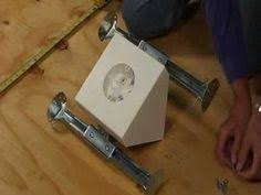 Installing A Ceiling Fan Box by Arlington How To Install Fan And Lighting Fixture Box Centered