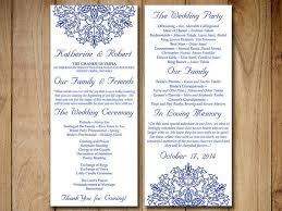 order of ceremony for wedding program best wedding ceremony program templates products on wanelo