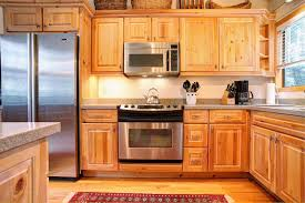 Furniture Kitchen Cabinet Pine Kitchen Cabinets In The Useful Furniture Hupehome