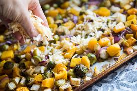 roasted fall vegetables with apples gouda perry s plate