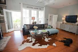 Photos Of Living Room by Cowhide Rugs And A Few Ways Of Using Them In Your Interior Décor