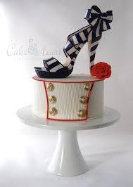 Cake Decorating Magazine Issues Nautical Stiletto Shoe U0027 Cake Master Magazine Issue 21 June 2014