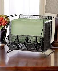 Desk Folder Organizer Black Mesh Desktop Hanging File Folder Organizer Sort Office Desk