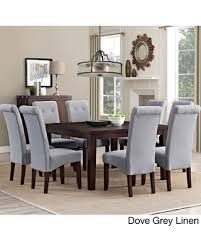 black dining room table for sale spring savings on wyndenhall essex 9 piece dining set dove grey