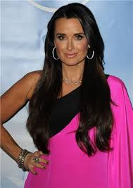 kyle richards hair extensions kim kyle richards fyi back in the 80 s it was kim with the