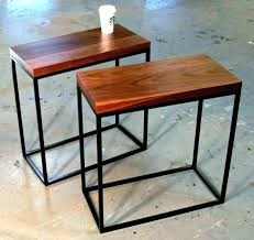 very small coffee table slim coffee table thin side table narrow side table long thin coffee