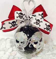ornaments etsy ornaments personalized skull