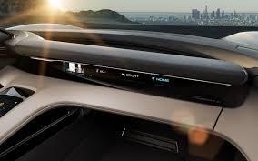 porsche mission e red reasons why u201cporsche mission e u201d electric sports sedan poses a