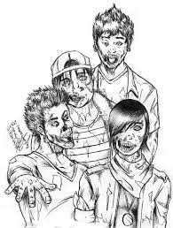 zombies coloring pages advanced zombie image 7 advanced