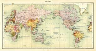Wold Map World Map Atlas