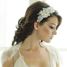 flower hairband fabric flower headband zaphira bridal