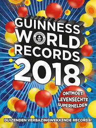 uitgeverij de fontein guinness world records 2018