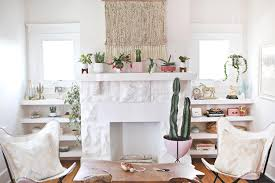 Pink Living Room by Kacey Musgraves U0027 Living Room Makeover U2013 A Beautiful Mess