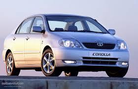 toyota corolla sedan 2003 toyota corolla sedan specs 2003 2004 autoevolution