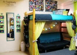 Tall Bed Risers Dorm Decorating Ideas Closet Rod Dorm And Dorm Room