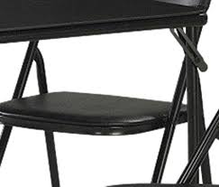 Amazon Com Cosco Products 4 - amazon com cosco 5 piece folding table and chair set black