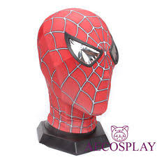 spiderman mask ebay