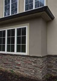 exterior of stone and stucco offices buildings stucco tech all