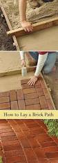 Painted Patio Pavers Brick Stencil For The Home Pinterest Stenciling Bricks And