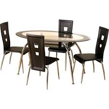 glass and chrome dining table small dining room table and 4 chairs oak small kitchen table and 4