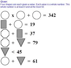 middle math and pre algebra printables and worksheets