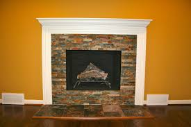 new awesome stacked stone fireplace with white man 4029