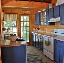 painted blue kitchen cabinets kitchen cabinet paint bold blue colors for a cheerful look