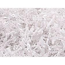 krinkle paper white crinkle cut shredded paper gift box basket crinkle paper