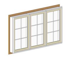 generic plastic windows bim objects families